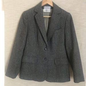 Evan Picone vintage Fitted grey Blazer Sz. L